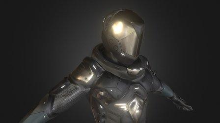 Sci-Fi Suite 3D Model