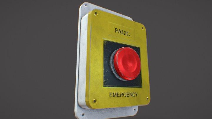 Alarm button 3D Model
