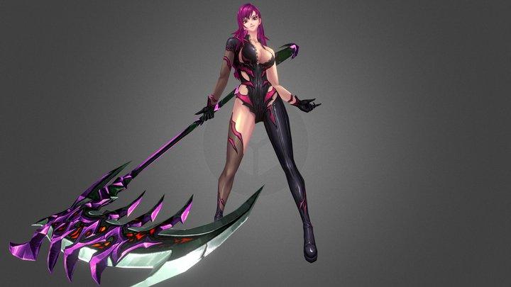 Kritika Reaper 3D Model