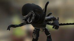Xenomorph : Aliens Minimates 3D Model