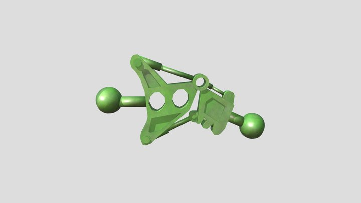 Bionicle Leg Piece 3D Model
