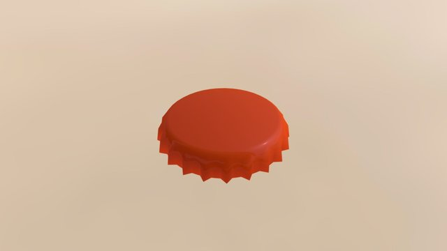 Bottlecap 3D Model