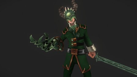 Dragon King 3D Model