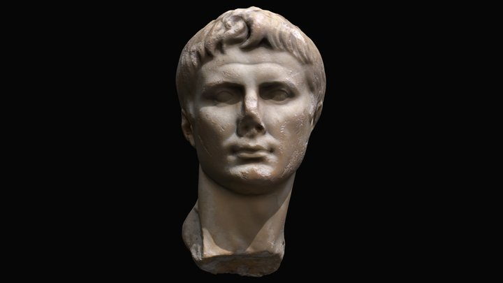 Bust of Augustus 3D Model