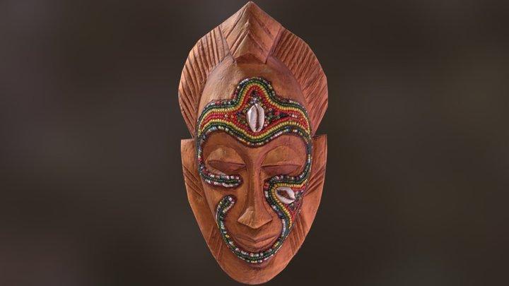 African Tribal Mask 3D Model