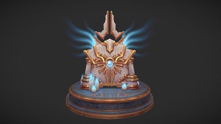 Celestial Cache 3D Model