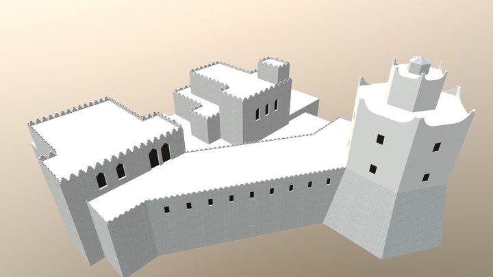 Mogadishu Lighthouse 3D Model