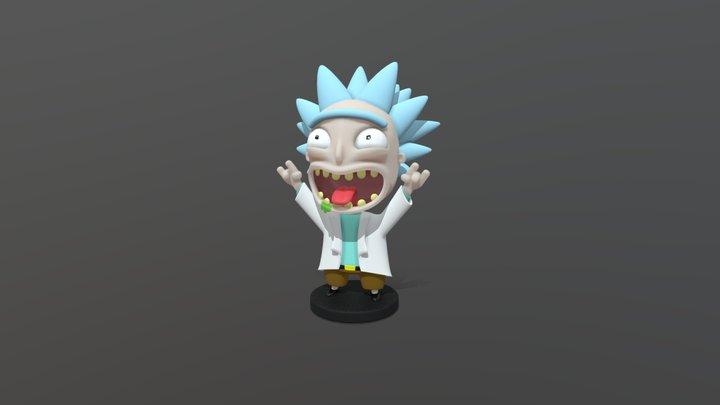 Mini Rick 3D Model
