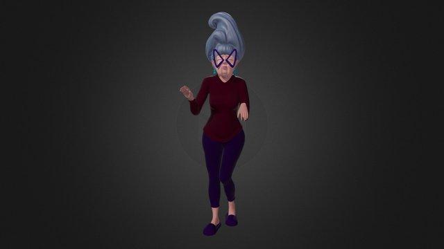 Estelle 3D Model