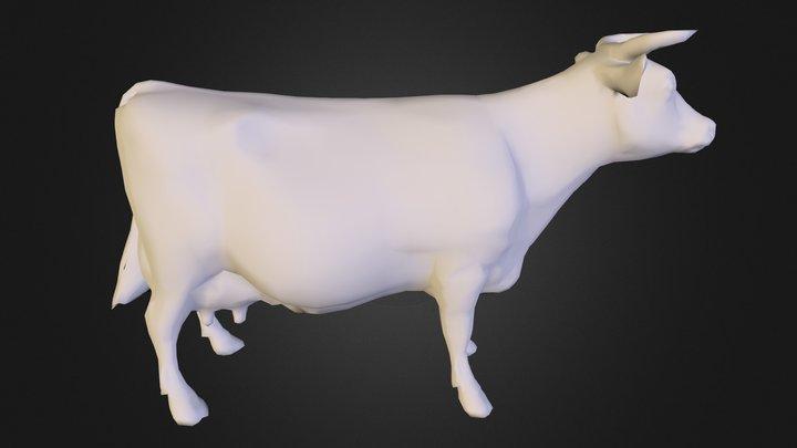 Cow-nonormals 3D Model
