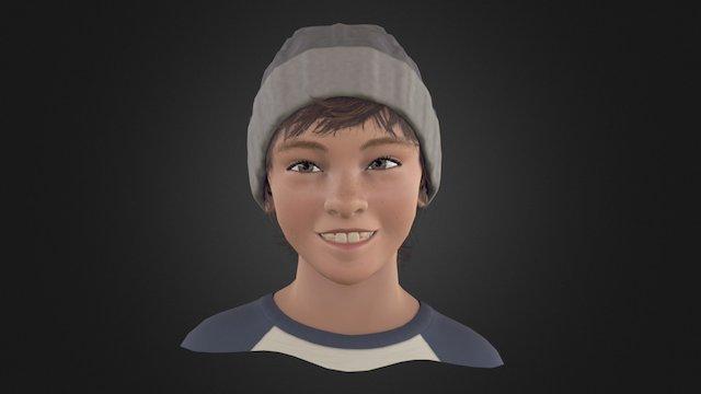 Expressive Face 3D Model