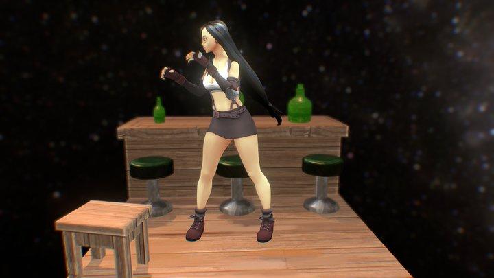 Tifa Lockheart - Retrogasm 2018 3D Model