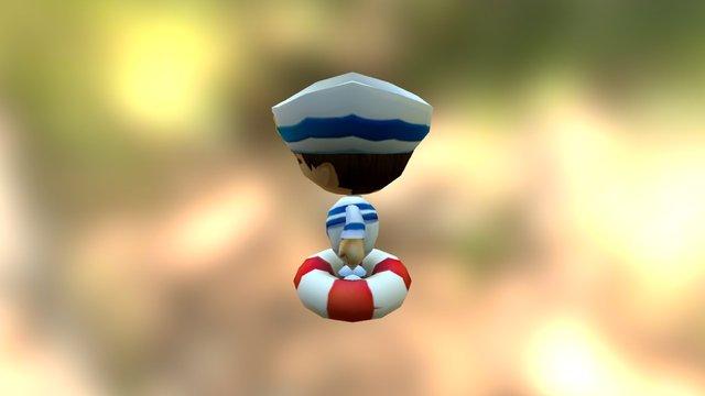 Character_Sailor 3D Model