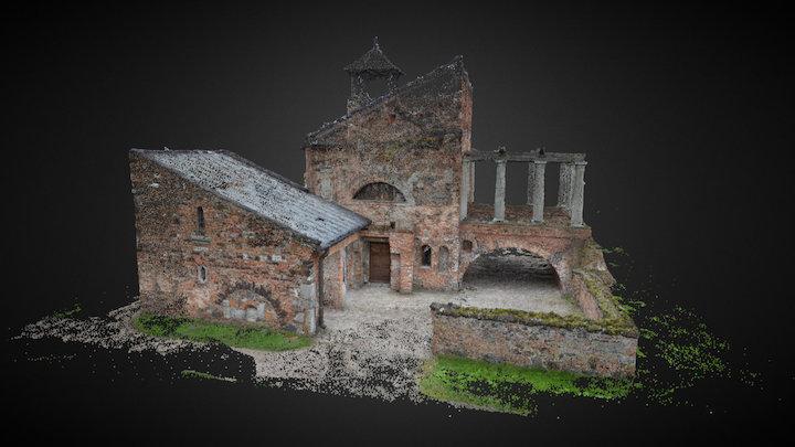 Przybytek Arcykapłana, Arkadia - Chmura punktów 3D Model