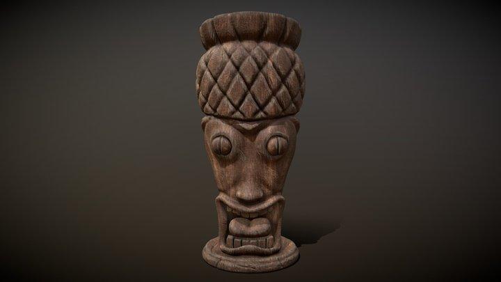 Totem Tiki 4 3D Model