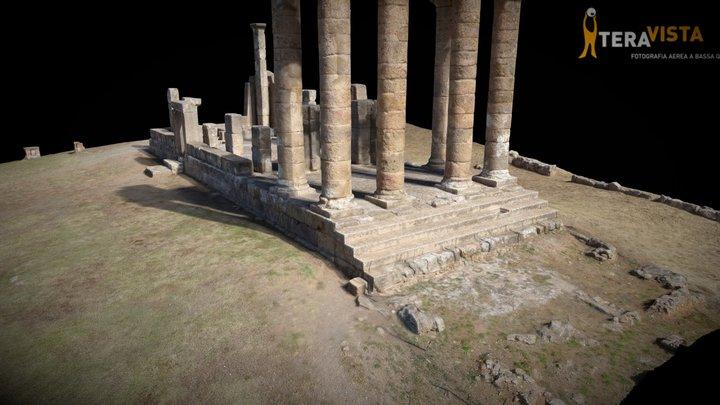 Fluminimaggiore, Tempio di Antas 3D Model