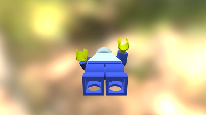 Lego minifigure 3D Model