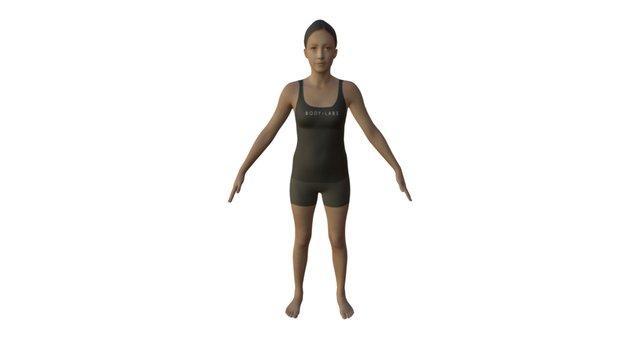 Body Labs Sample Textured Body Model 3D Model