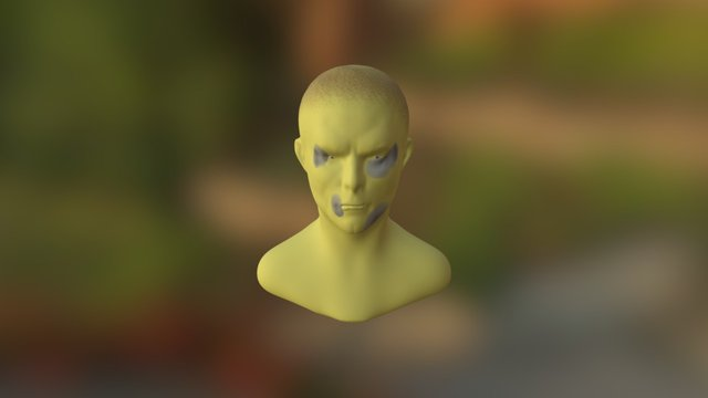 Beat up man 3D Model