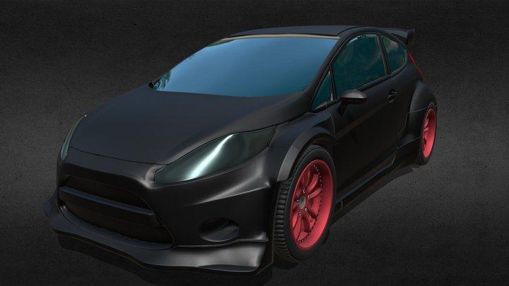 Ford Fiesta 3D Model