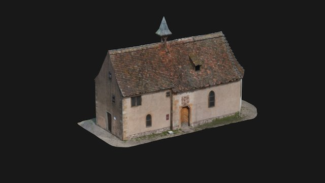Modélisation 3D Chapelle St Jacques à Mutzig 3D Model