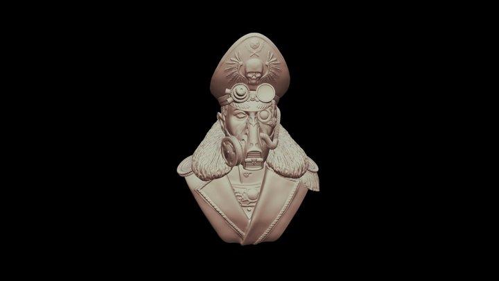 Komissar 3D Model