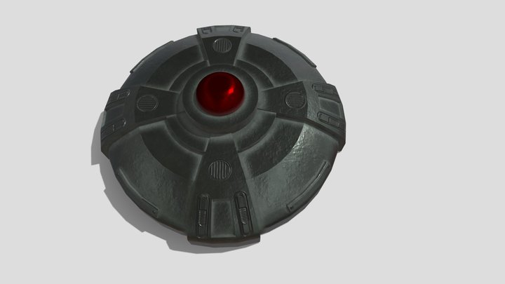 Mine 3D Model