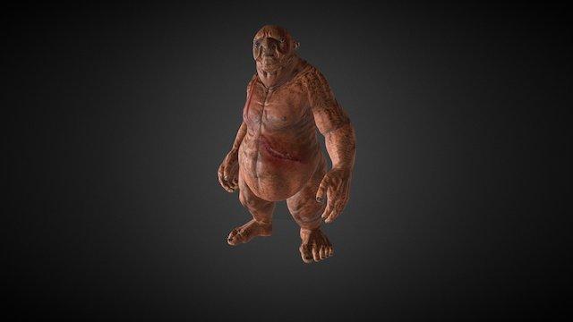 iClone Character Creator - Ogre Morph 3D Model