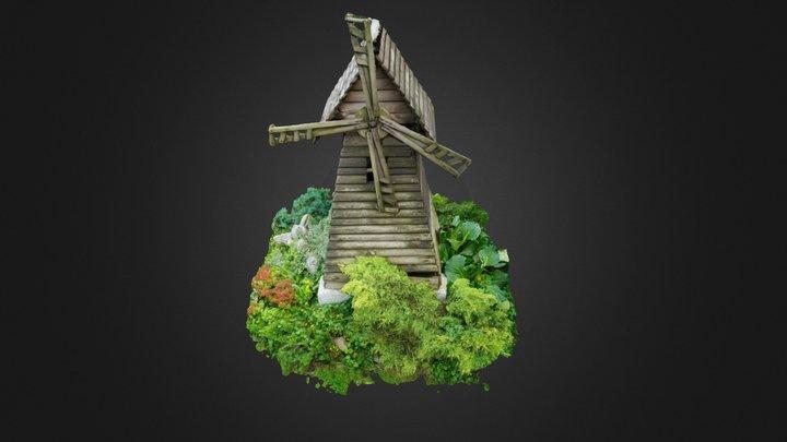 Mini mill 3D Model