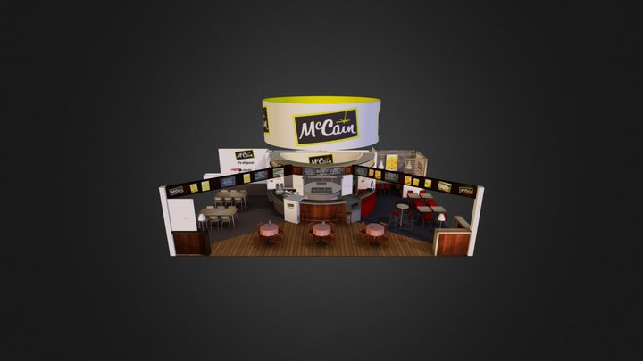 Mc Cain 3D Model