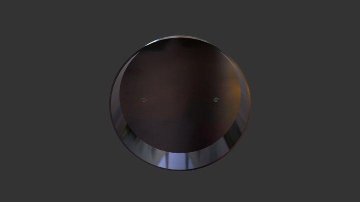 Крышка для ревизионной части системы дымохода 3D Model