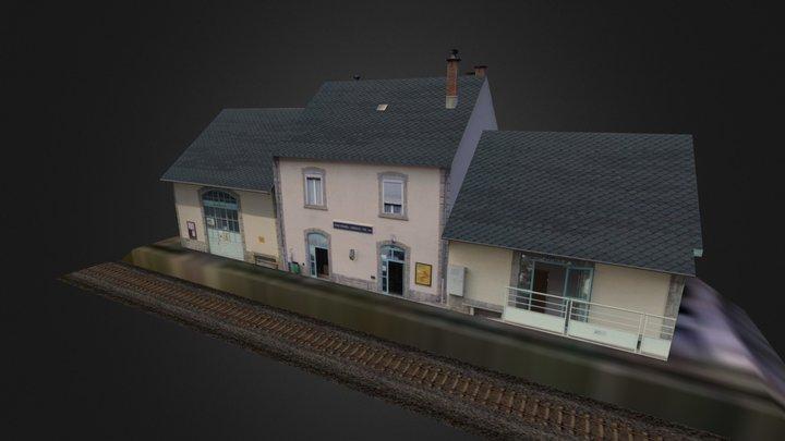 Gare de Font-Romeu 3D Model
