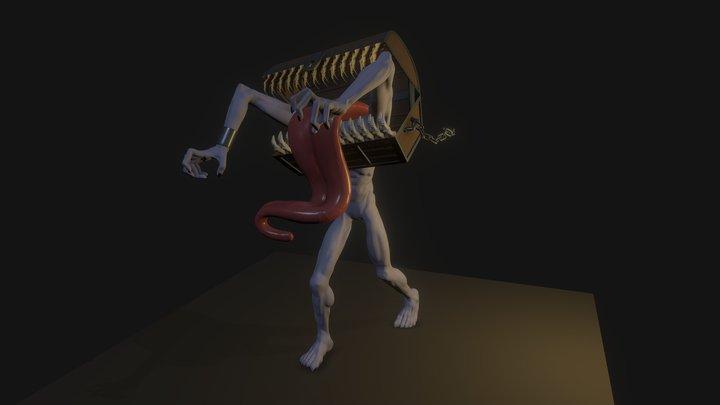 Sculpt January 26 - Cursed Treasure 3D Model