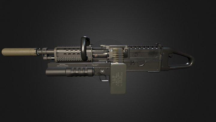 KAC Chain SAW 3D Model