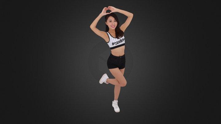 Cheerleader 879 3D Model