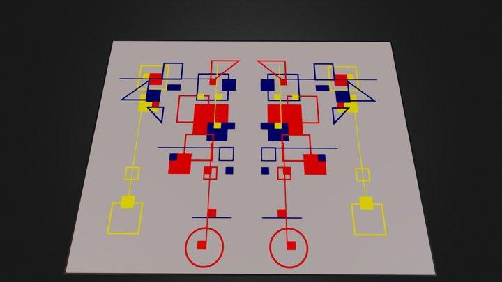 cubodecolor.blend 3D Model