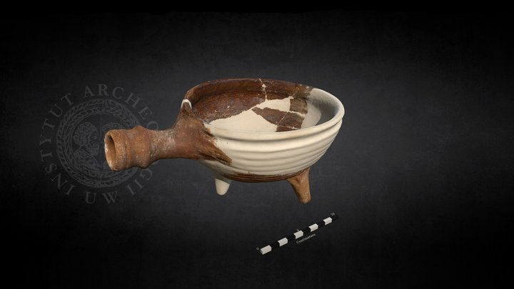 Medieval Cooking Pot (Pk.M.122.01A.28) 3D Model