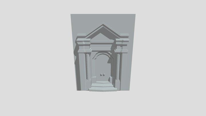 Door_Barroque_6 3D Model