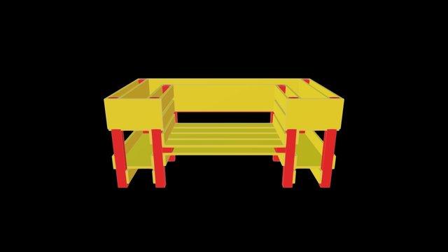 Kraeuter Garten Chair 2 3D Model