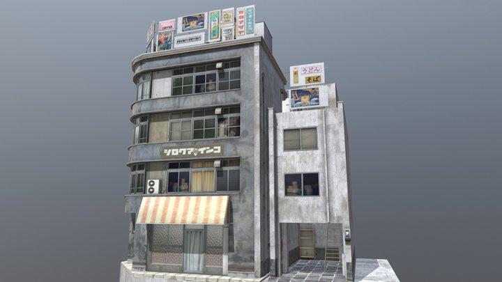 """Shouwa Omise "" 80's shopping street 03 3D Model"
