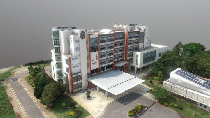 อาคาร สิริคุณากร 3D Model