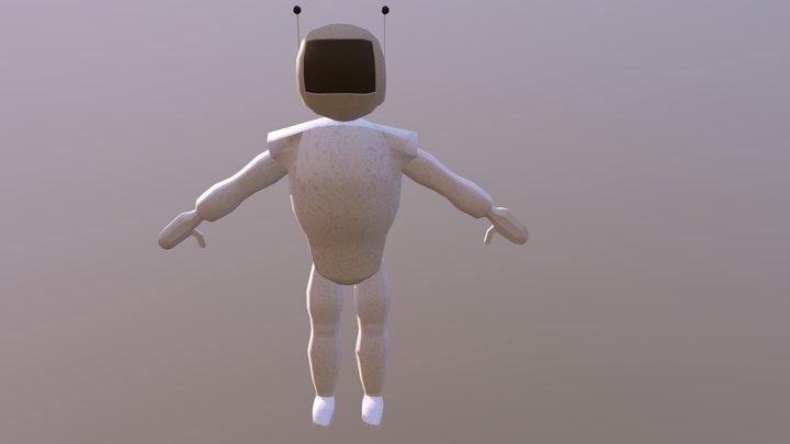 Space Man 3D Model