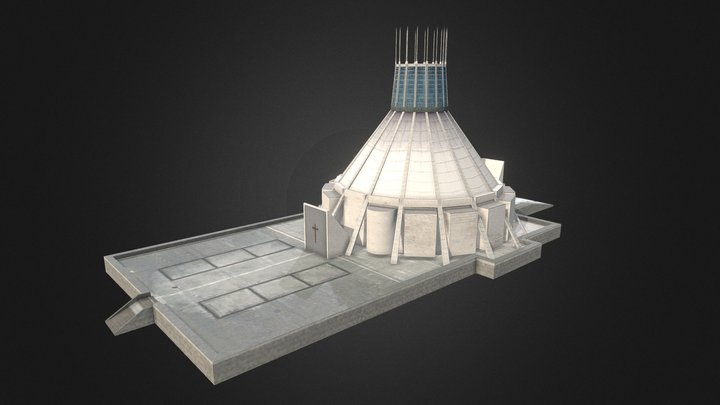 Liverpool Metropolitan Cathedral 3D Model