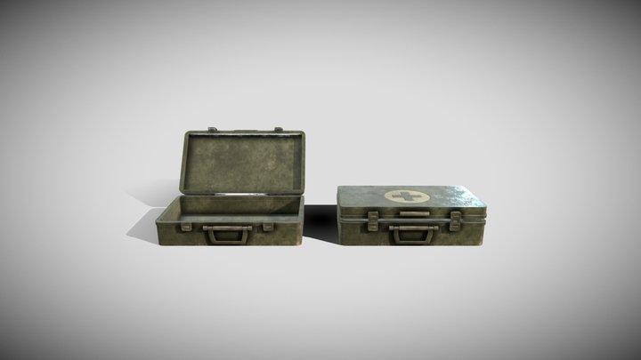 Field Medic Box 3D Model