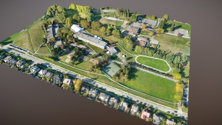 West Point Grey Academy Vancouver Campus 3D Model