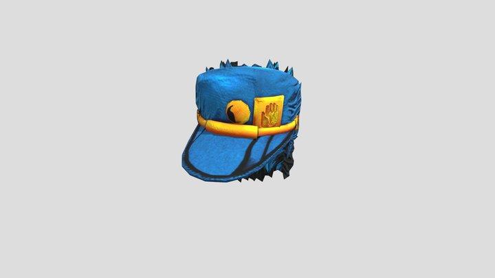 Jotaro Hat 3D Model