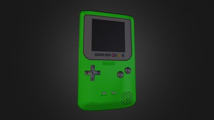 Gameboy Color 3D Model