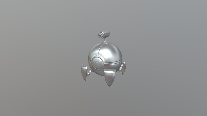 A Tiny Crisis in Space - Roball 3D Model