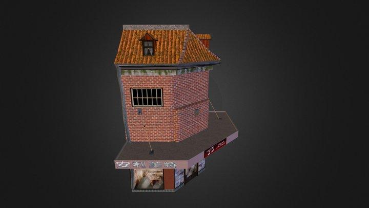 Record Store (exam 3D) 3D Model