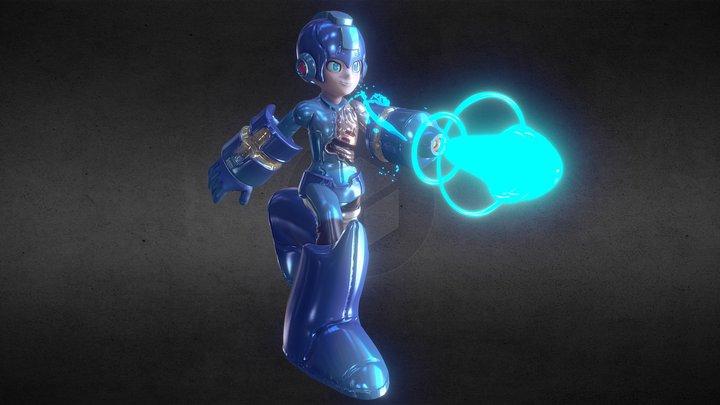 Mega Man 3D Model